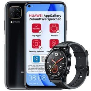 Huawei P40 Lite mit Watch GT