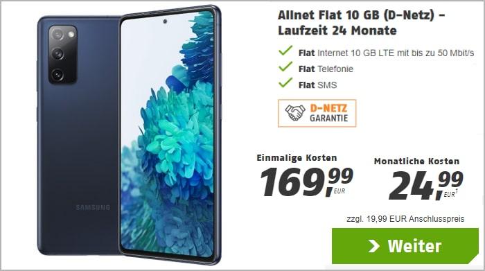 Klarmobil Samsung Galaxy S20 FE 128 GB 10 GB