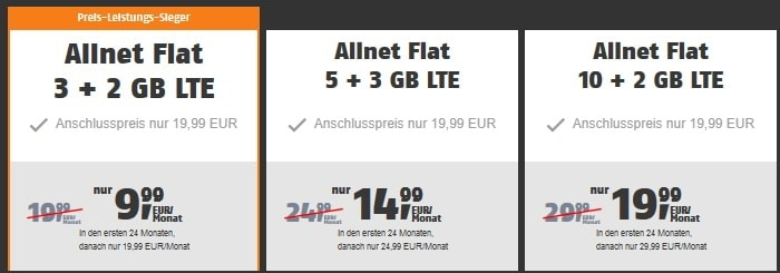 klarmobil Allnet Flats