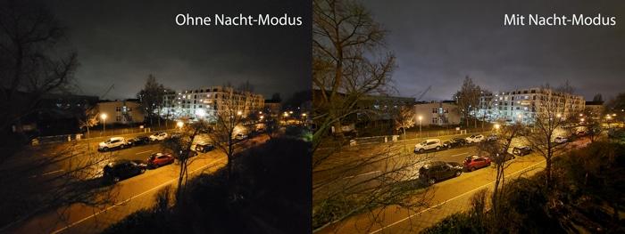 Nacht-Modus beim Galaxy S20 FE im Test - Low Light Aufnahmen sind dadurch besser!