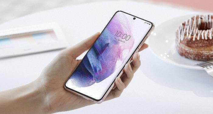 Samsung Galaxy S21 Plus Test - Display