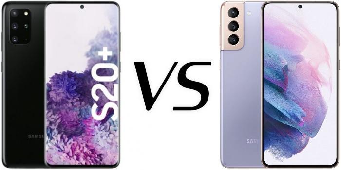 Samsung Galaxy S20 Plus versus Galaxy S21 Plus im Vergleich