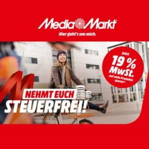 MediaMarkt Mehrwertsteuer Aktion im Oktober 2021 Thumbnail