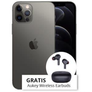 Apple iPhone 12 Pro mit Aukey Earbuds Teaserbild Thumb