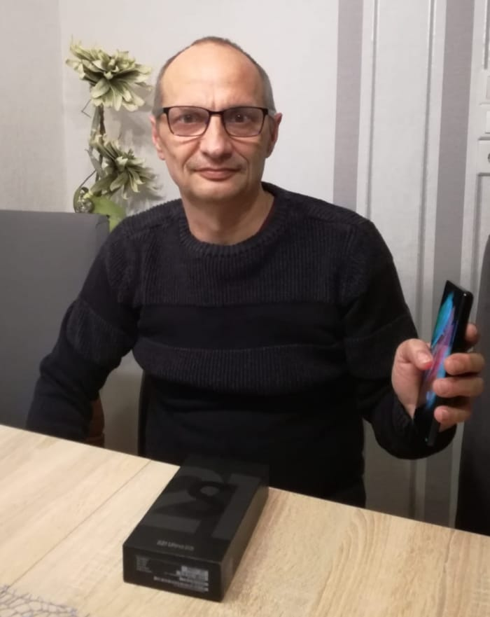 Gewinnspiel-Gewinner Samsung Galaxy S21 Ultra bei Handyhase