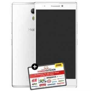Haier Phone Voyage V5 inkl 300 Euro Wunschgutschein