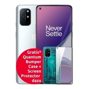OnePlus 8T + Bumper Case + Screen Protector Thumbnail