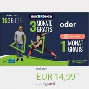 mobilcom-debitel Allnet Flat 15 GB Aktion Thumbnail