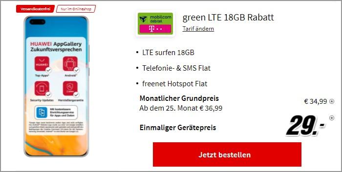Huawei P40 Pro green LTE 18 GB