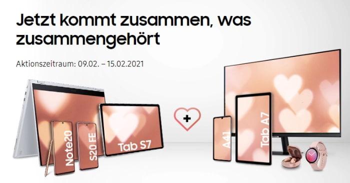 Samsung Valentinstag 2021