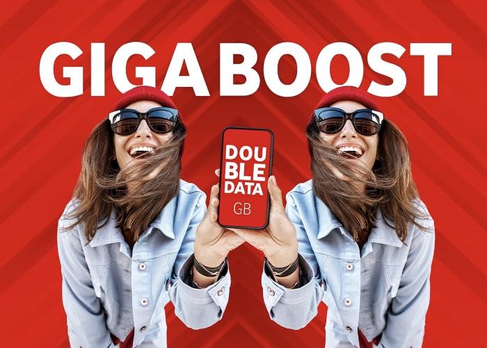 Vodafone GigaBoost DoubleData