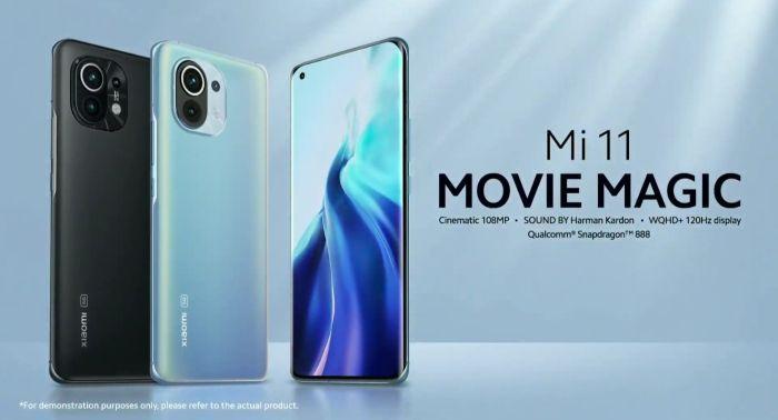 Bei dem Xiaomi Mi 11 mit Vertrag, Tarif, Vergleich, Vodafone, Telekom, o2 - wird die Kamera - Foto & Video - ganz groß geschrieben (Bild: Xiaomi)