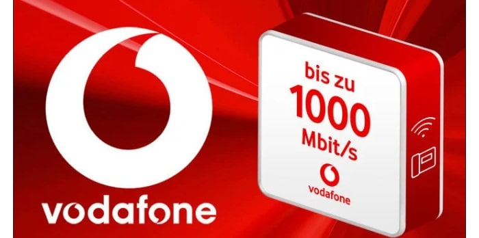Vodafone Cable bis zu 1000 Mbits