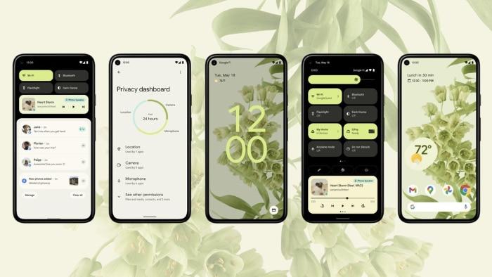 Android 12 Beta Screenshot