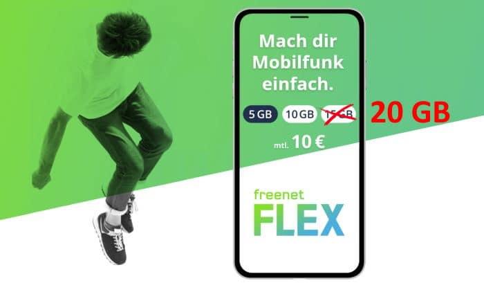 freenet Flex - App, Mobilfunk, Test