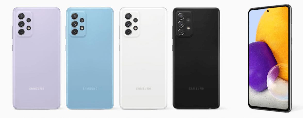 Samsung Galaxy A72 mit Vertrag, Tarif , Telekom, Vodafone, o2 Vergleich