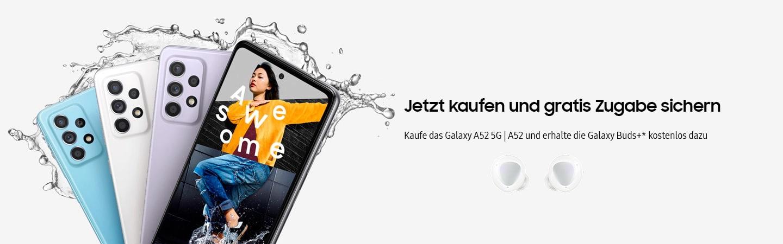 Samsung Galaxy Buds Plus Aktion zum Samsung Galaxy A52 & Galaxy A72