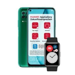 Huawei P40 Lite und Huawei Watch Fit - Teaser