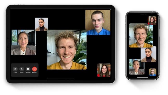 iOS 15 mit FaceTime-Gruppenvideochat und Bildschirmfreigabe