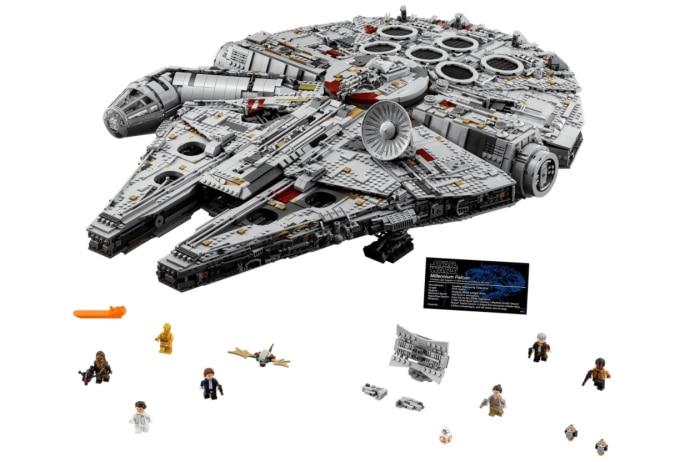 Lego kaufen & Ratenzahlung: Star Wars Millennium Falcon, Disney Schloss & Kollosseum günstig zum Handyvertrag