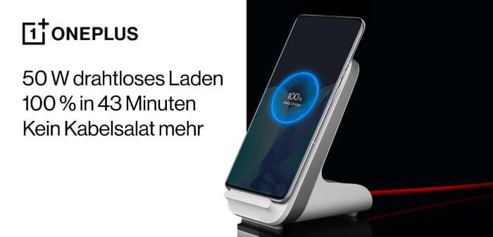 Aktion: OnePlus Warp Charge 50W Wireless Ladegerät zum OnePlus 9 Pro