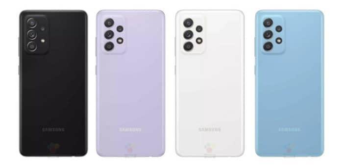 Samsung Galaxy A52 Farben mit Vertrag