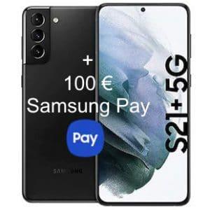 Samsung Galaxy S21 Plus + 100 € Samsung Pay Guthaben - Teaser
