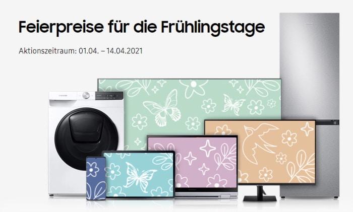 Samsung Frühlingstage mit gratis Samsung Galaxy Buds Live zur Galaxy-S21-Familie