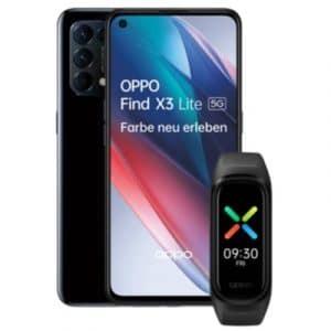 Oppo Find X3 Lite mit Oppo Sport Band