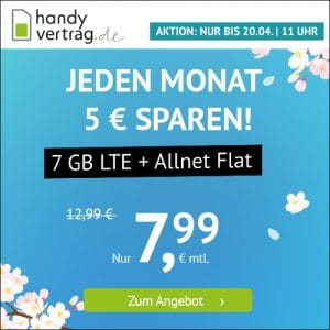 handyvertrag LTE All 5 GB Aktion April 2021 Thumbnail