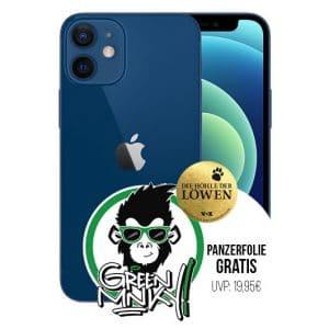 iPhone 12 mit Green Mnky Panzerglasfolie Thumbnail