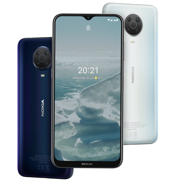 Nokia G20 mit Vertrag im Vergleich