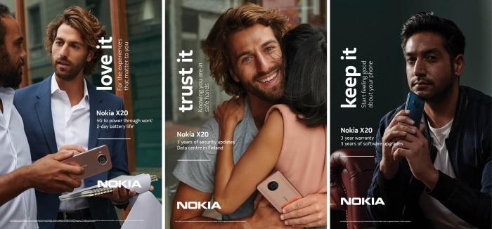 Nokia X20 mit Vertrag im Vergleich