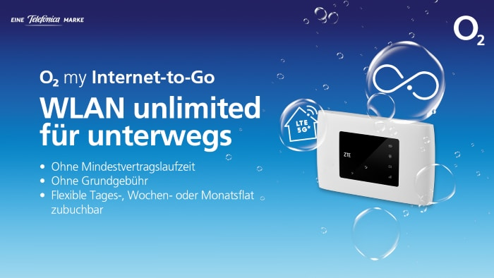 o2 my Internet to Go mit Router