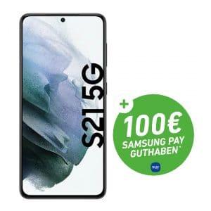 Samsung Galaxy S21 5G + 100 € Samsung Pay Guthaben bei DeinHandy - Teaser