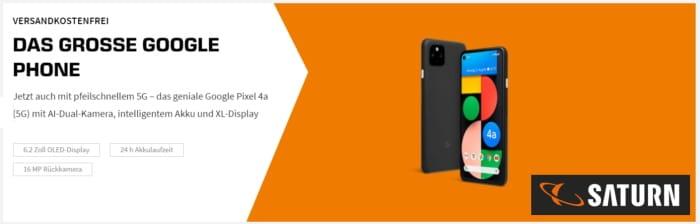 Google Pixel 4a & Pixel 4a 5G: Neu und ohne Handy-Vertrag – der aktuell beste Preis