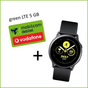 mobilcom-debitel green LTE (Vodafone-Netz) + Galaxy Watch Active bei Saturn