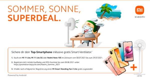 "Xiaomi Sommeraktion ""Sommer, Sonne, Superdeal"" Thumbnail"