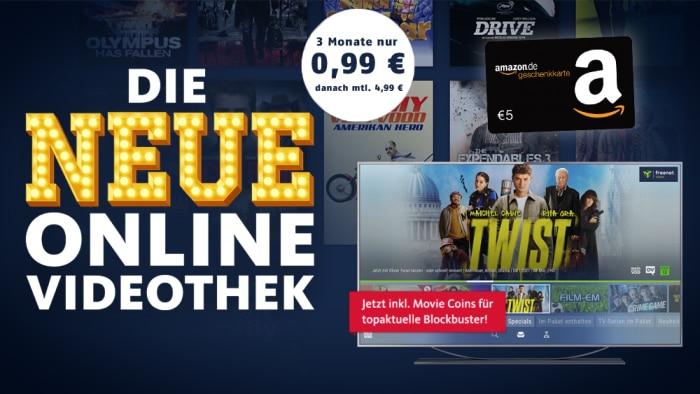 freenet Video rechnerisch gratis und mit Gewinn!