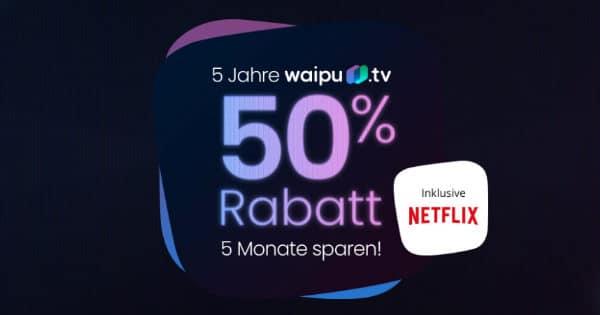 5 Jahre waiput.tv - 50 Prozent Aktion - Teaser