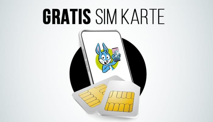 SIM-Karte kostenlos in den Netzen von Telekom, Vodafone & o2