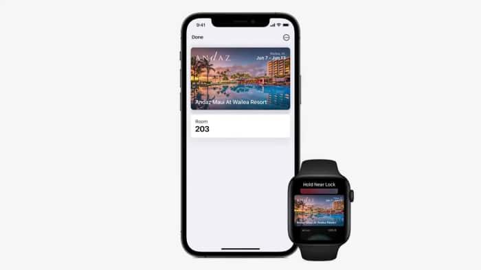 Apple iOS 15 - Hotelschlüssel in der Wallet
