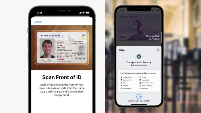 Apple iOS 15 - ID-Karten in der Wallet