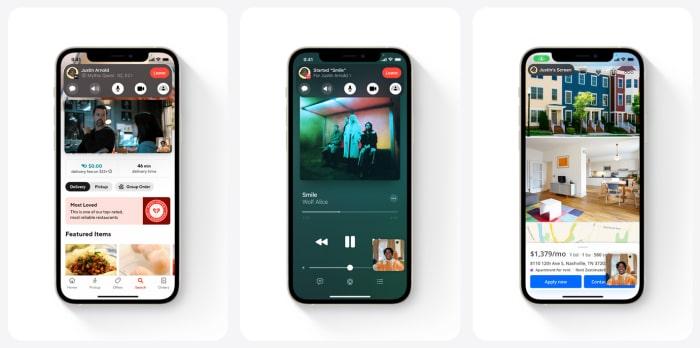 Apple iOS 15 - SharePlay