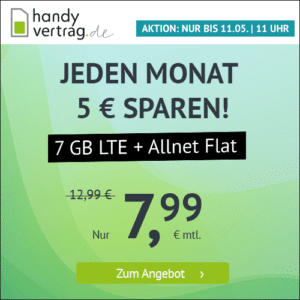 handyvertrag 5+2 GB Aktion Mai 2021