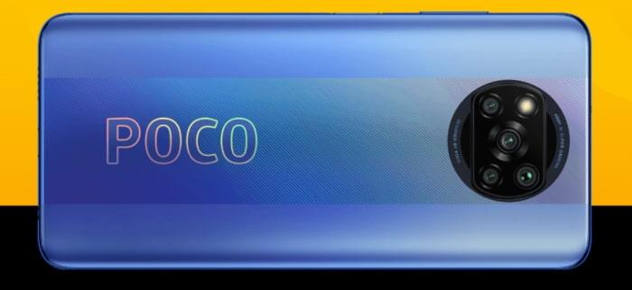 Xiaomi Poco X3 Pro - Rückseite