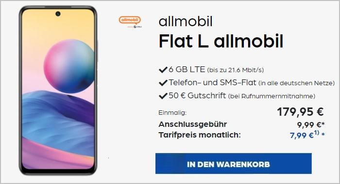 Redmi Note 10 Allmobil Flat L Preisboerse24