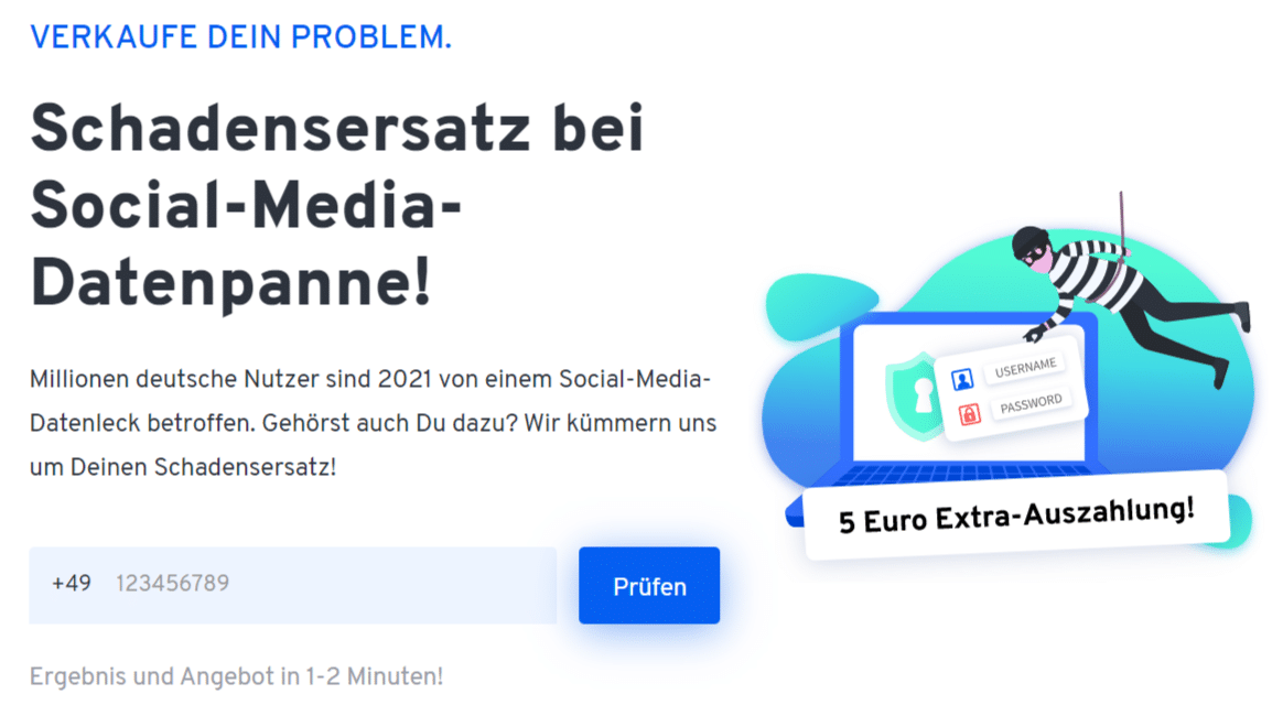 Großes Datenleck bei Facebook: So erhältst Du 18,47 € Schadensersatz