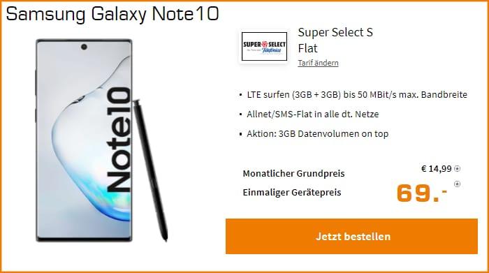 Samsung Galaxy Note 10 Super Select S Saturn
