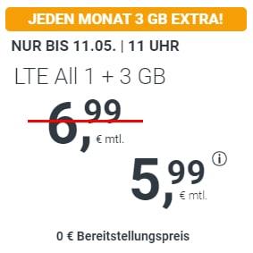 winSIM-Aktion Mitte Mai 2021 mit 4 GB LTE - Teaser